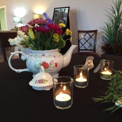 Flowers in Favorite Tea Pot