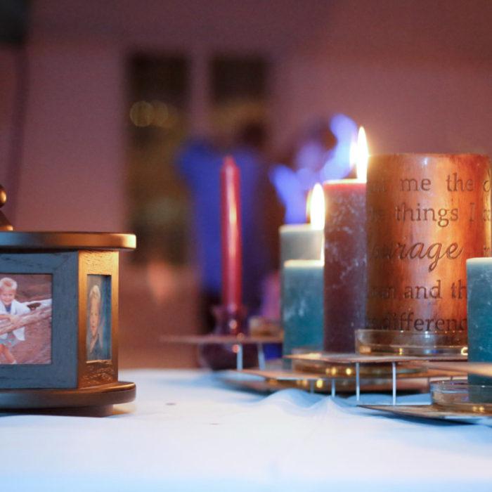 Elegant Memorial Table